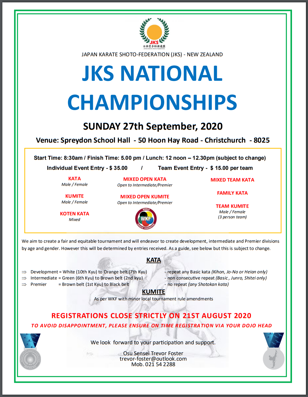 JKS National Championships