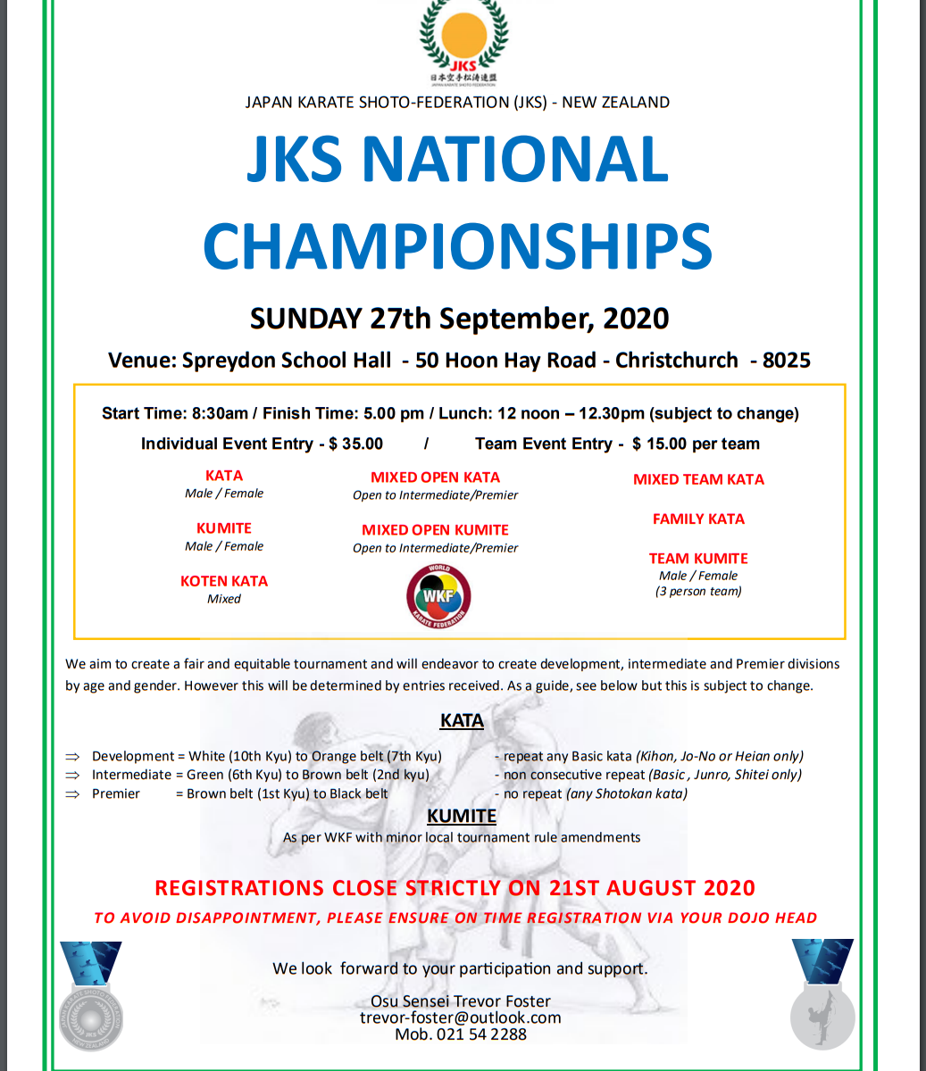 JKS National Championships
