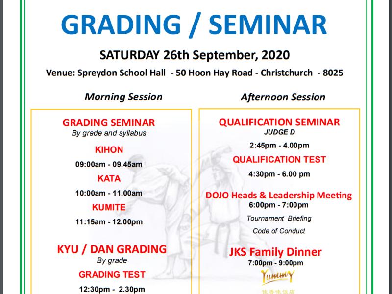 JKS National Grading / Seminar